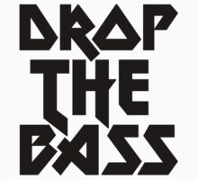 Drop The Bass (ferrum) [dark] T-Shirt