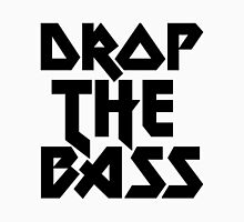 Drop The Bass (ferrum) [dark] Womens Fitted T-Shirt