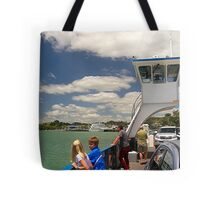 Not exactly the Queen Mary but the Russell Car Ferry......! Tote Bag