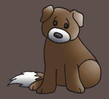 Cute Puppy One Piece - Short Sleeve