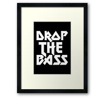 Drop The Bass (ferrum)  Framed Print