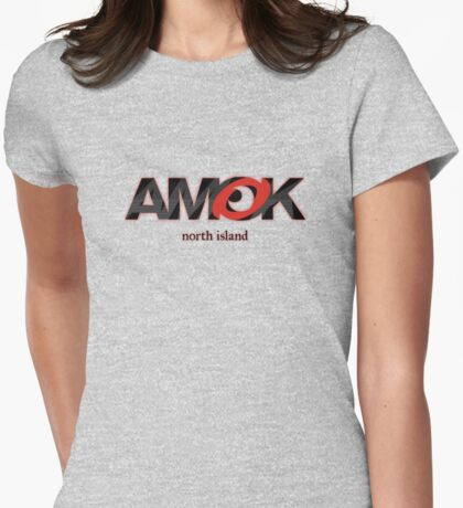 AMOK - north island Womens Fitted T-Shirt