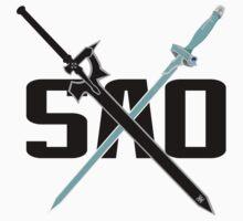 SAO Asuna(X)Kirito by ikon-noki