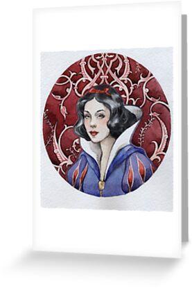 - Snow white - by Losenko  Mila