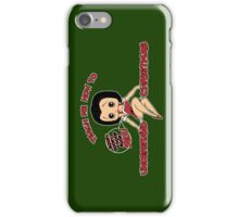 Annie: Teach Me How To Understand Christmas (Variant) iPhone Case/Skin