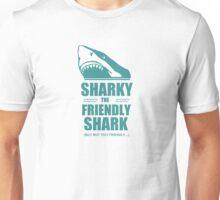 Eddie Izzard - Sharky the Friendly Shark Unisex T-Shirt