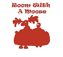 Room With A Moose Photographic Print