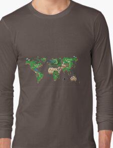 Super Mario World Map T - Shirt Long Sleeve T-Shirt