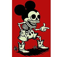 Skull mouse Photographic Print