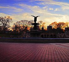 Central Park - Angel of the Fountain by emcreates