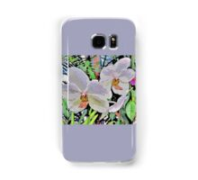 Orchid Abstract Samsung Galaxy Case/Skin