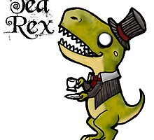 Tea Rex by ZombieRodent