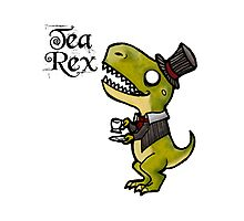 Tea Rex Photographic Print