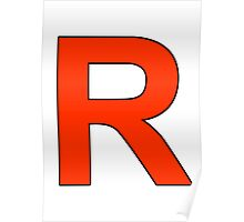 Team Rocket Logo Poster
