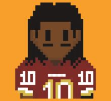 8-bit Robert Griffin III (RG3) 3Enigma NFL Tee by CrissChords