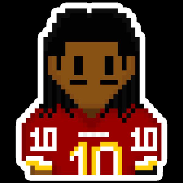 8-bit Robert Griffin III (RG3) 3Enigma NFL Tee by CrissChords