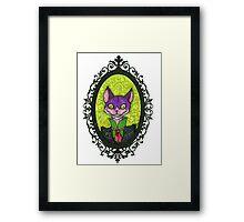 Dapper Cheshire Framed Print