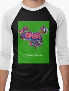CHINA Men's Baseball ¾ T-Shirt