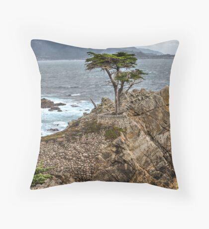 A Cypress Tree Vertical  Throw Pillow