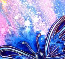 Cosmic Butterfly Sticker