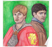 Merlin and Arthur Poster