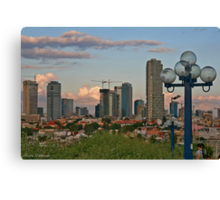From Jaffa to Tel- Aviv. The Lamp Canvas Print