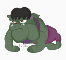 Bulldog Hulk by Centtaro by centtaro