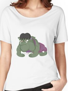 Bulldog Hulk by Centtaro Women's Relaxed Fit T-Shirt