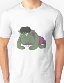 Bulldog Hulk by Centtaro T-Shirt