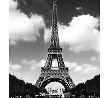 Eiffel Tower by Maximus2013