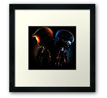 Halo Guardian Forces Framed Print