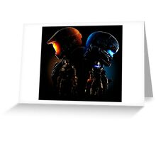 Halo Guardian Forces Greeting Card