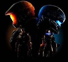 Halo Guardian Forces Photographic Print
