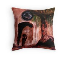 Another culture, watercolor Throw Pillow
