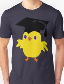 ღ°ټGorgeous Blue Eyed Nerd Chick on a Graduation Cap Clothing& Stickersټღ° Unisex T-Shirt