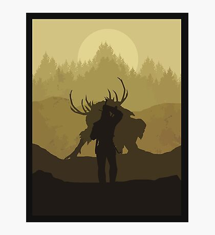 The beast hunt Photographic Print