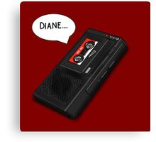 Diane.... Canvas Print