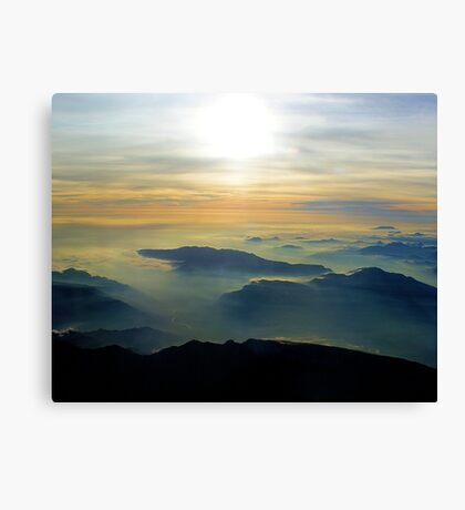 Didn't Have to Die to go to Heaven (Just had to go home) Canvas Print