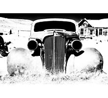 Gangsta Car Photographic Print