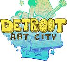 Detroit Art City by Kelly Guillory