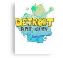 Detroit Art City Canvas Print