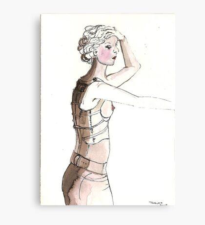 Bondage Canvas Print