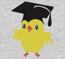 ღ°ټGorgeous Blue Eyed Nerd Chick on a Graduation Cap Clothing& Stickersټღ° One Piece - Long Sleeve