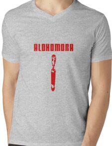 Alohomora - Sonic Screwdriver Mens V-Neck T-Shirt