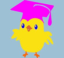 ღ°ټGorgeous Blue Eyed Nerd Chick on a Graduation Cap Clothing& Stickersټღ° Womens Fitted T-Shirt