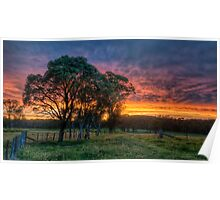 Wards Country Sunset Poster
