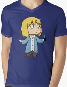 Lipstick Armin Mens V-Neck T-Shirt