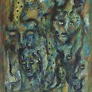 Town ghosts by Katerina Apostolakou