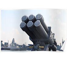 naval missile  Poster