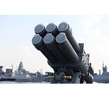naval missile  Photographic Print